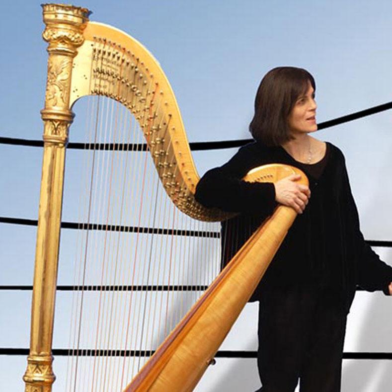 Christina Rhys - Harpist