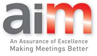 AIM is the UK's only recognised accreditation scheme for the meetings and events industry.