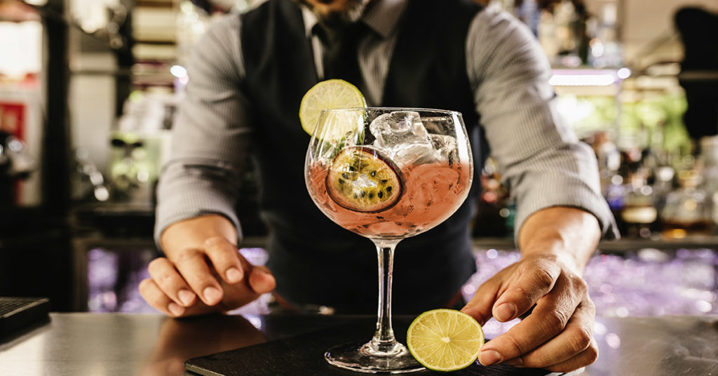 Halloween Cocktails at Whirlowbrook Hall Hotel September