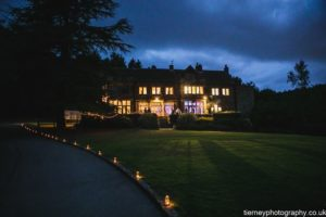 Evening Wedding Receptions at Whirlowbrook Hall Sheffield