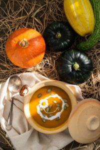 spiced pumpkin soup whirlowbrook hall